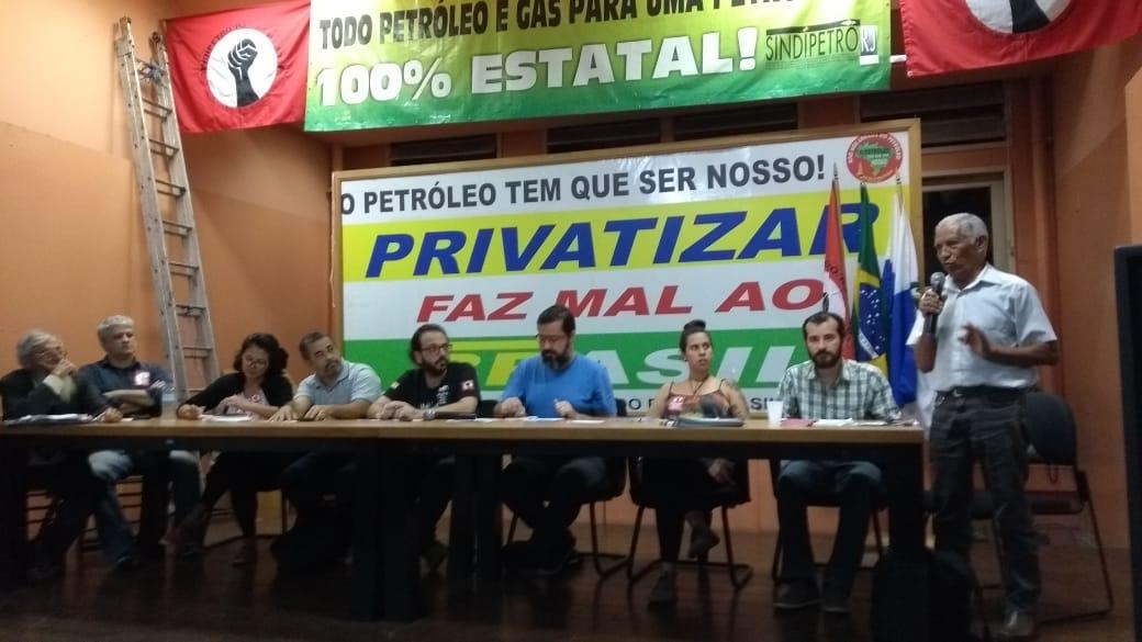 Em plenária realizada no Sindipetro-RJ entidades anunciam apoio à Greve Nacional Petroleira plen  ria 29 5