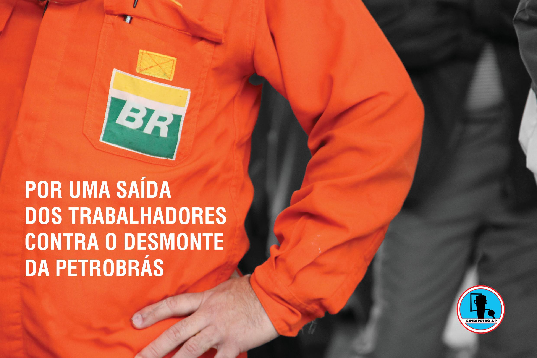 Cartilhas por uma saida dos trabalhadores contra o desmonte da petrobraspdf 1
