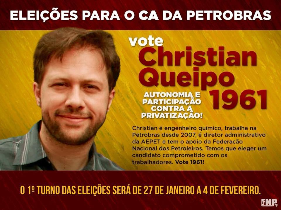 Iniciadas as eleições para o C.A. da Petrobrás   ndice 2