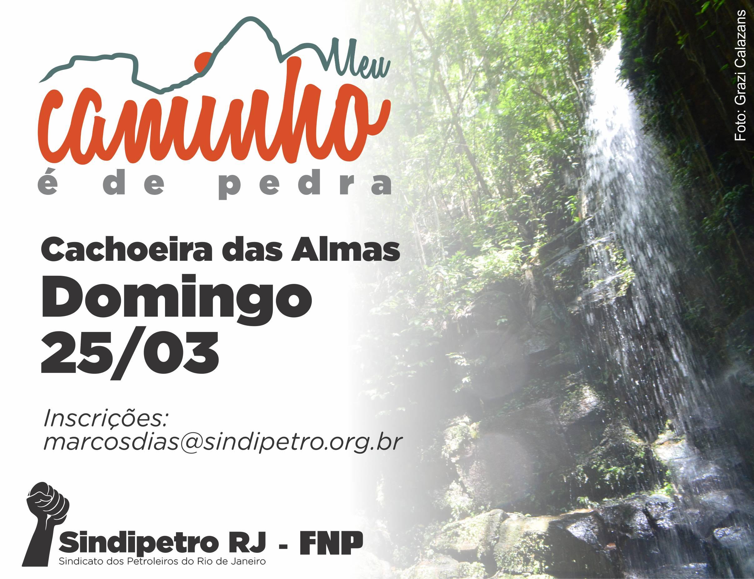 Neste domingo (25) tem 'Meu Caminho é de Pedra' – Cachoeira das Almas chamada cachoeira das almas