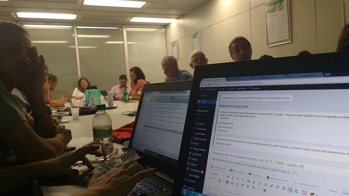 Reunião de Acompanhamento do ACT / SMS- tarde (4) 4 de abril