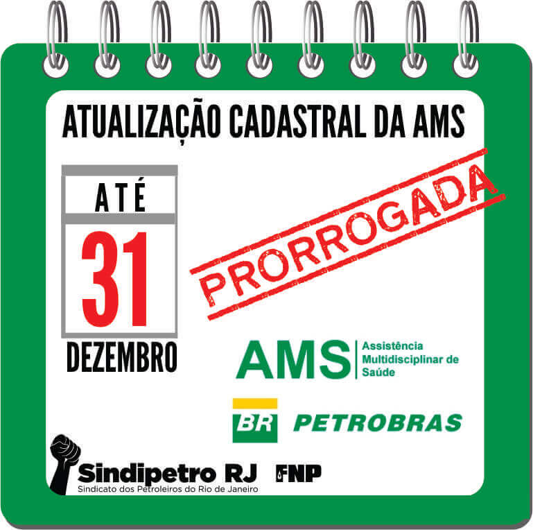 ATUALIZAÇÃO CADASTRAL DA AMS PRORROGADA ATÉ 31/12/18 AMS  ATUALIZAÇÃO CADASTRAL DA AMS PRORROGADA ATÉ 31/12/18 AMS