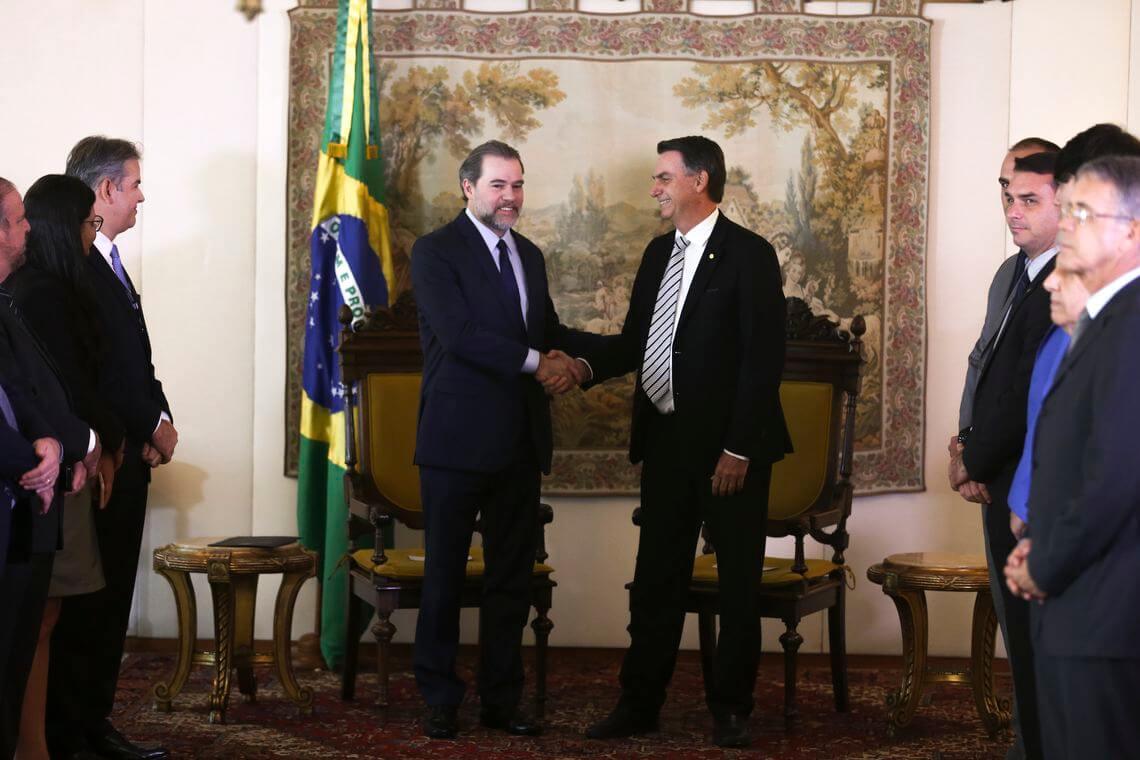 Presidente do STF cassa liminar que suspendia desmontepara agradar governo Bolsonaro Antonio Cruz Ag  ncia Brasil
