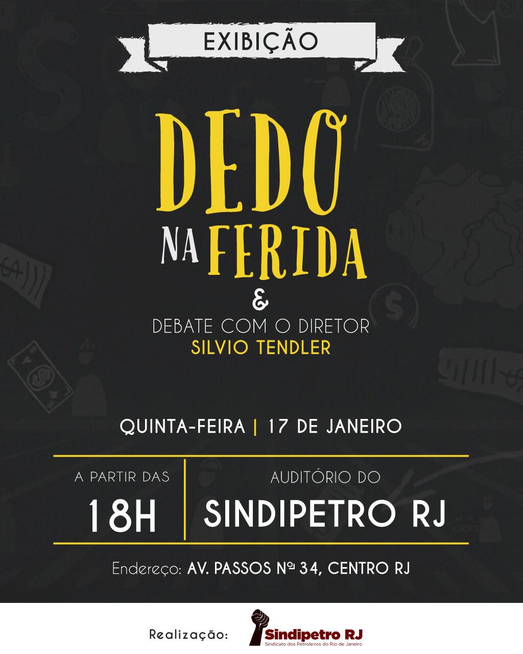 Sindipetro-RJ exibe novo documentário de Silvio Tendler – Dedo na Ferida WhatsApp Image 2018 12 28 at 08  A10 WhatsApp Image 2018 12 28 at 08