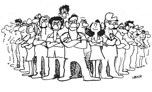 Avançar na organização unificada – Assembleia nacional dos trabalhadores => Dia 20 Charge trabalhadores unidos